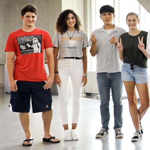 Students at Hanyang University